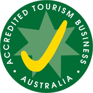 Logo for Accredited Tourism Business