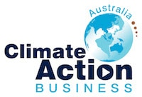 Logo for climate action business