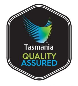 The logo for Quality Assured business in Tasmania