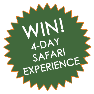 Win! 4-Day Safari Experience